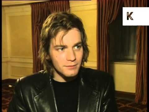 1997 Ewan McGregor Interview, London Critics Awards, Archive Footage