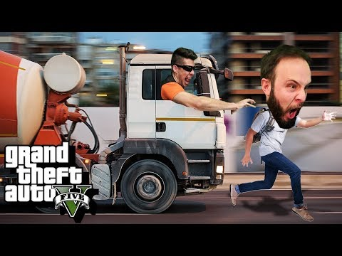 TRUCKIN' AROUND - GTA 5 Gameplay