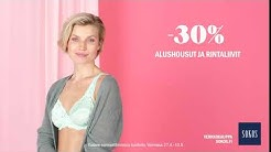 Naisten rintaliivit, alushousut ja sukat –30 % 27.4.–10.5. | Sokos & Emotion