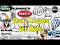 Car LOGOS for Kids | Learning Videos for Kids / Toddlers