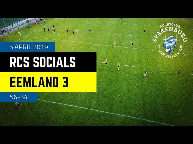 RCS Socials - Eemland 3 | 56-34 | 4K
