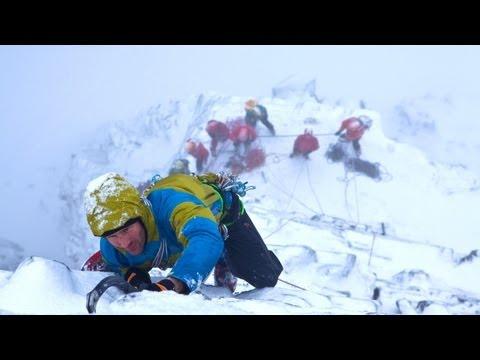 Scottish Ice Trip - Mixed Climbing In Ben Nevis - Scotland