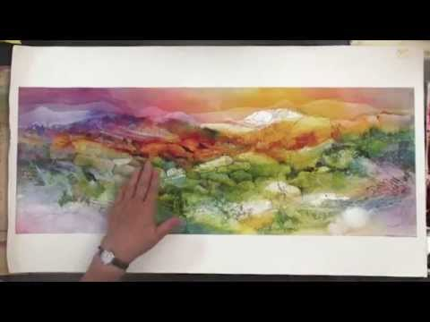 Preview | Watercolor Making Your Mark, Part 10, with Karlyn Holman