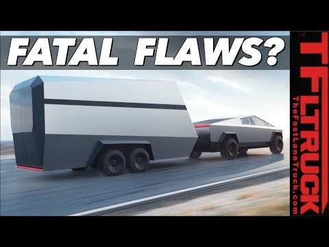 Forget the Tug of War! All Electric Trucks Have This Achilles Heel Including the Tesla Cybertruck!