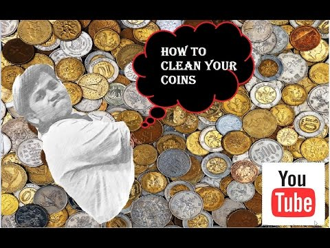 how to clean your silver coin -art of numismatics-2