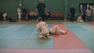 The winner of Judo Galway Open Championship 2010 (girls under 28kg & under 30kg)