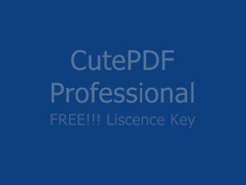 cutepdf pro evaluation