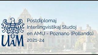 Invito al la nova studgrupo pri Interlingvistiko – Poznano 2021-2024