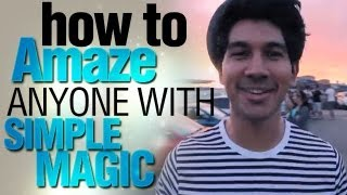 Cool Magic Tricks: How To Amaze Anyone With Simple Magic! Performing At Downshift Australia