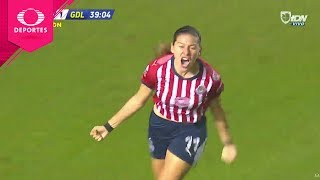 Gol de Norma Palafox | Tigres 2 - 2 Chivas | Liga Mx Femenil - Semifinal | Televisa Deportes
