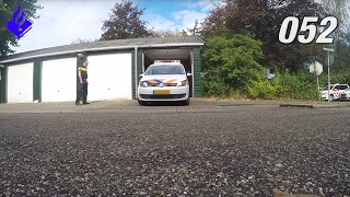 Politie Vlogger Jan-Willem, rijtraining. Vlog NR 52
