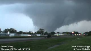 Powerful and Massive Tornado in Shawnee, OK: May 19th, 2013