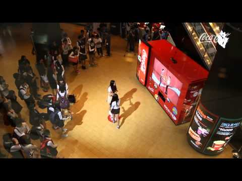 Guerrilla Marketing - Coca-Cola Dancing Vending Machine