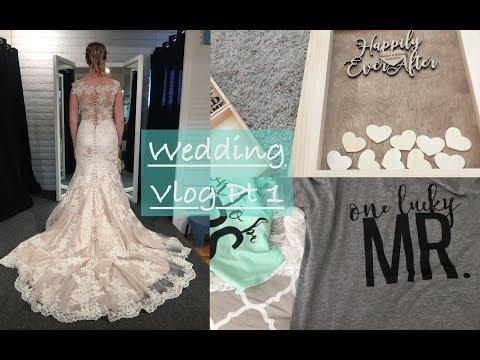 Wedding Wednesday | Vlog PT 1 | Wedding Dress, Etsy Packages & Packing