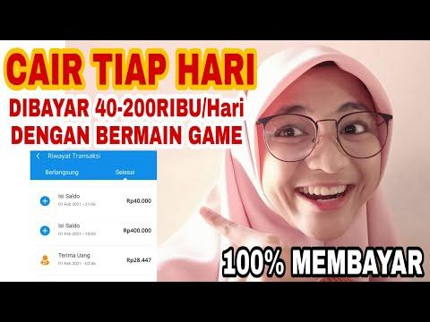 Main GAME Dapat uang 40-200Ribu/hari apk penghasil uang tercepat 2021 | Aplikasi Game Penghasil Uang