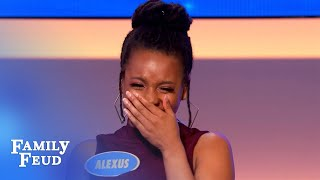 WHOOPS! Grandma got DRUNK at the reunion and... | Family Feud