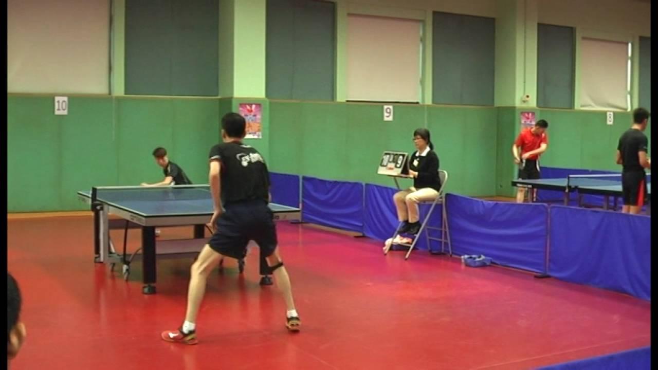 2016 香港乒乓排名賽 鄧國基 對 吳哲鋒 - YouTube