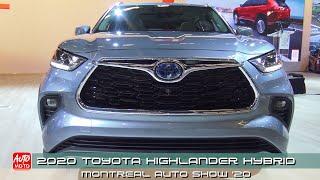 2020 Toyota Highlander Platinum Hybrid - Exterior And Interior - Montreal Auto Show 2020