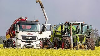 Claas Xerion 3800 | MAN AGRO TRUCKS | LKW | Kaweco | Slurry Injection | AgrartechnikHD