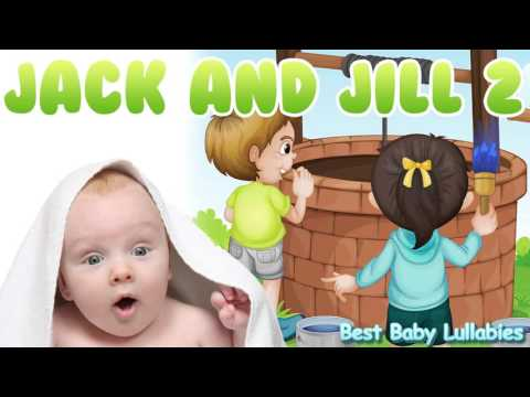 ♥ Songs To Put A Baby To Sleep Lyrics-Baby Lullaby Lullabies for Bedtime Jack and Jill   ♥