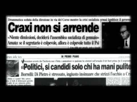 Mani Pulite, 1992 - Riflessioni di Bettino Craxi