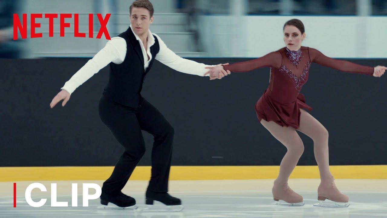 Download Kat & Justin's Short Program Ice Skating Routine   Spinning Out   Netflix