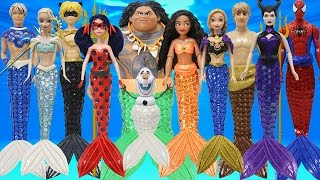 Play Doh Mermaid Disney princess Couples Inspired Costumes