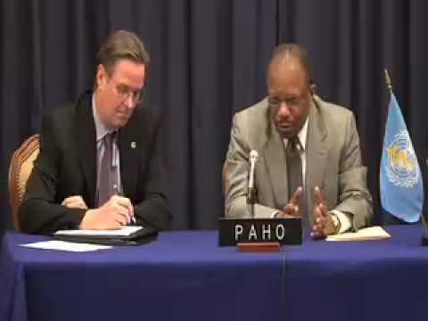 Press Conference January 13 2010 - Health situation Earthquake Haiti