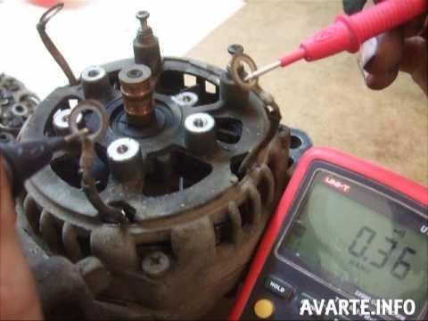 видео: ремонт генератора ВАЗ