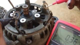 ремонт генератора ВАЗ