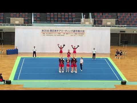 椙山女学園高等学校 B 西日本チアリーディング選手権大会2019.03.10