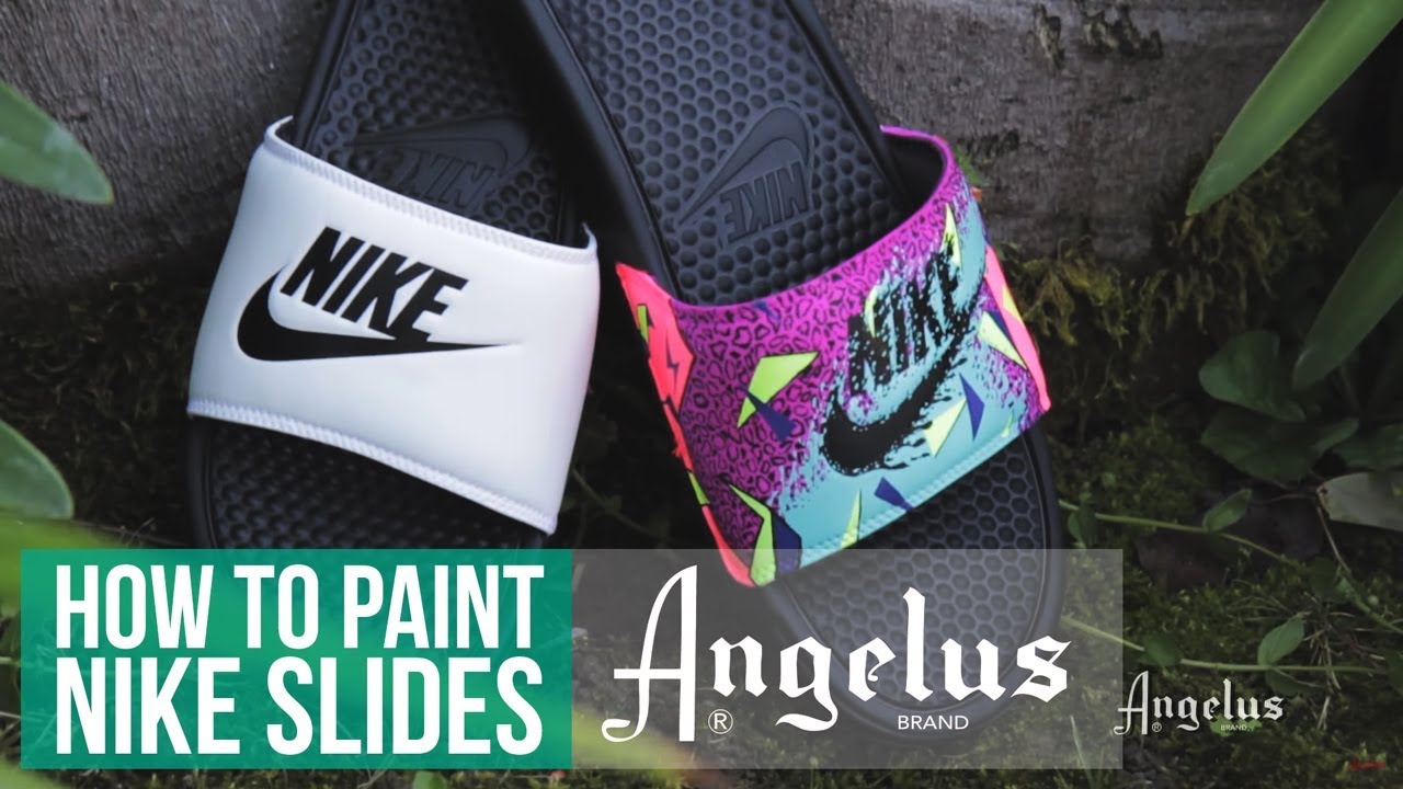 0e19be6db4dc9 Summer Slides | How To Custom Slides With Angelus Paint