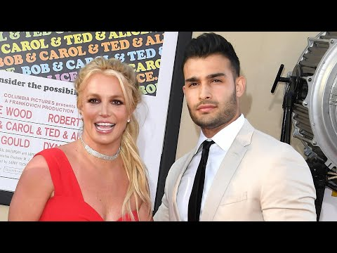 Watch Britney Spears and Sam Asghari Make Their Red Carpet Debut at Once Upon a Time in Hollywood