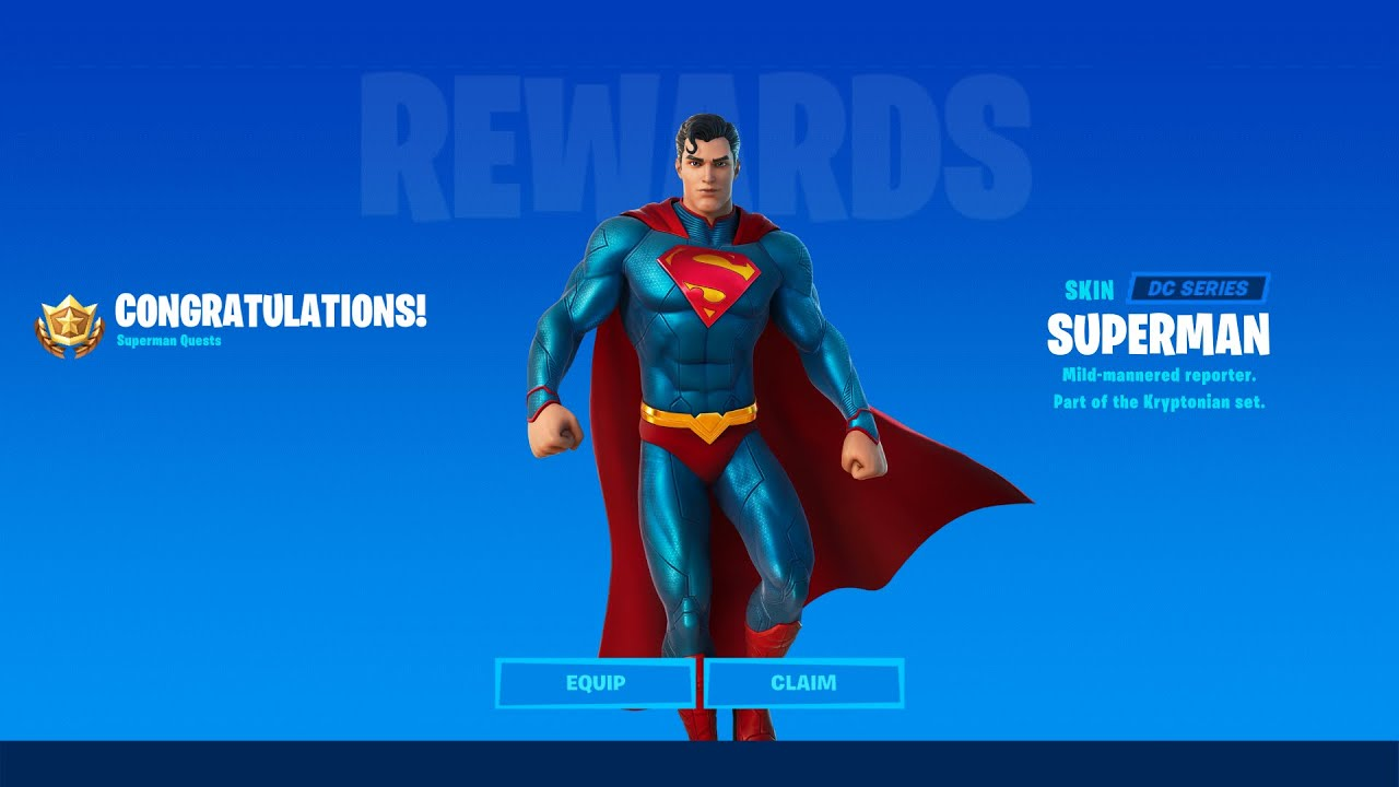 When and How to Unlock Superman Skin in Fortnite Chapter 2 Season 7! - Complete Superman Challenges
