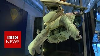 A record breaking space suit   BBC News