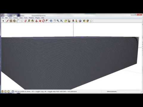 how to make contours in sketchup from google earth
