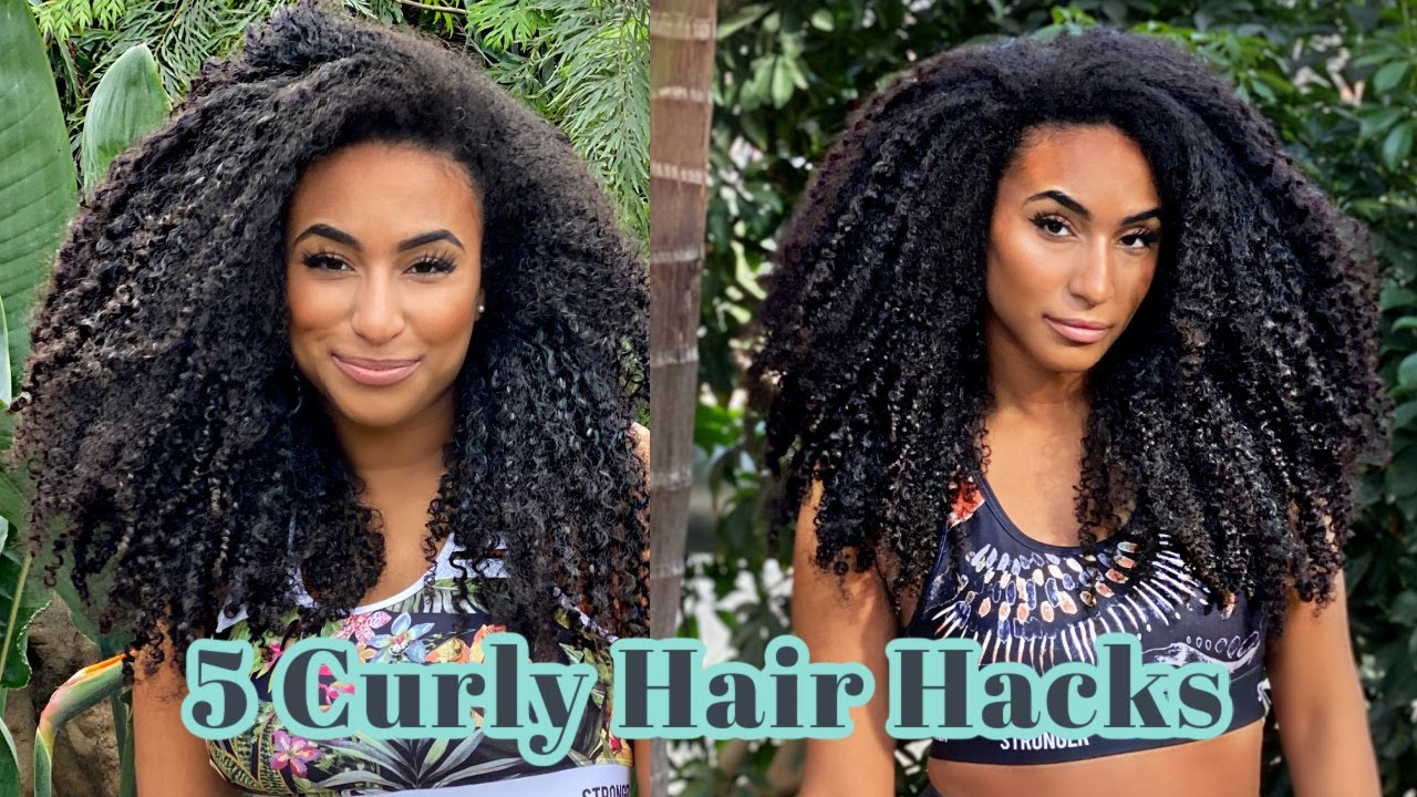 5 Curly hair growth and hydration hacks on a BUDGET
