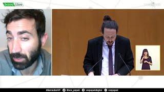 'Barra libre 19' (25/02/21) | La Fiscalía pide investigar un proyecto vinculado a Mayoral