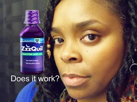 Does Zzzquil Sleep Aid Really Work Zzzquil Review