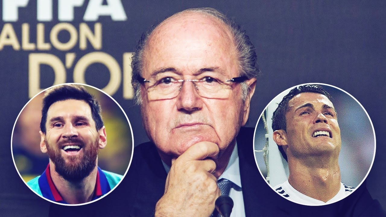 The Day Fifa S President Attacked Cristiano Ronaldo And Paid Tribute To Lionel Messi Oh My Goal Youtube