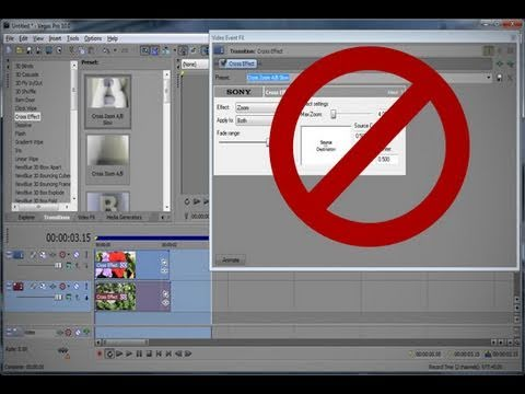 sony vegas how to add video fx