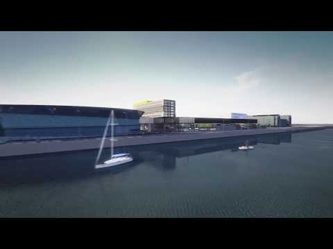 Exhibition Centre Liverpool Flythrough