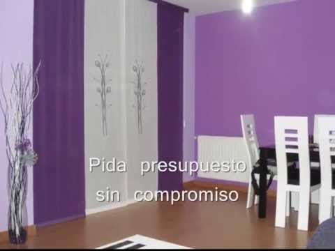 Pintores troncoso sal n lila youtube - Colores que combinan con lila ...