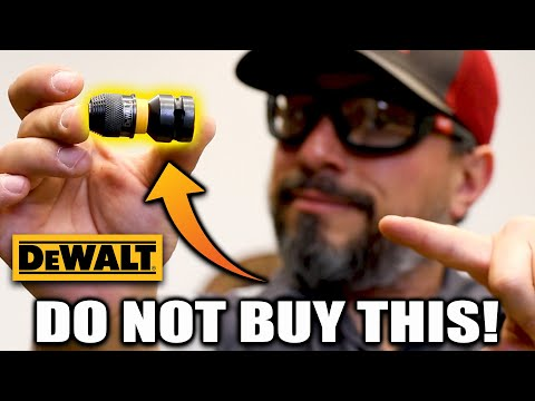 NEVER BUY THIS DeWALT TOOL ACCESSORY (seriously)