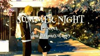 Gambar cover Summer Night - Yonna ft 20 Years of Age Lyrics Sub Indo