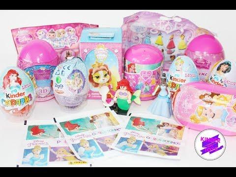 Принцессы Дисней и королевские питомцы. Микс сюрпризов. Unboxing Surprise Disney Princess.