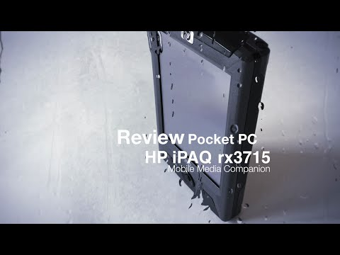 Global Unboxing HP iPAQ rx3715 Pocket PC