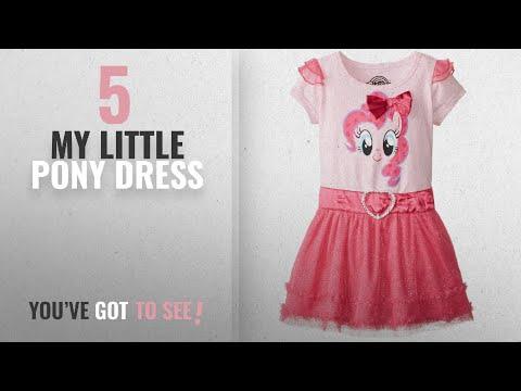 Top 10 My Little Pony Dress [2018]: My Pony Little Girls' Toddler My Pony Pink Dress, Light