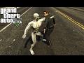Terminator Genisys: Pops vs T-3000 Fight (GTA 5)