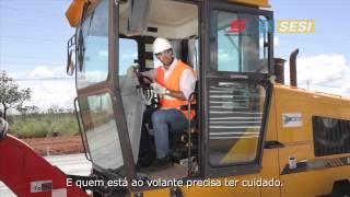 Projeto Série 100% Seguro | Segurança na Operação de Motoniveladora (Versão Completa)